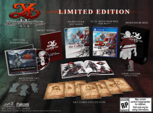 Ys IX Monstrum Nox Limited Edition PS4