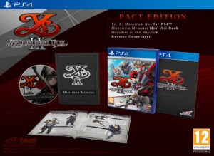 Ys IX Monstrum Nox Pact Edition PS4