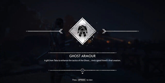 Ghost of Tsushima How To Get Ghost Armor