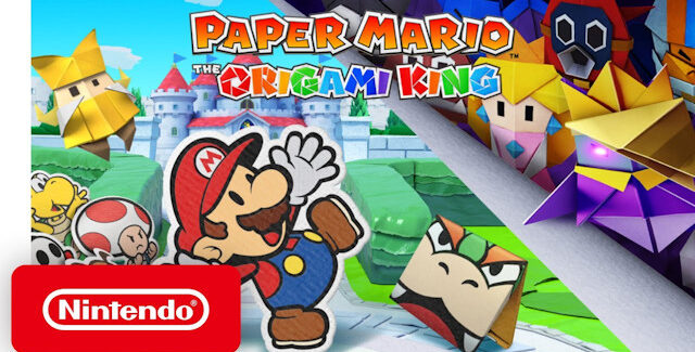 Paper Mario: The Origami King Cheats