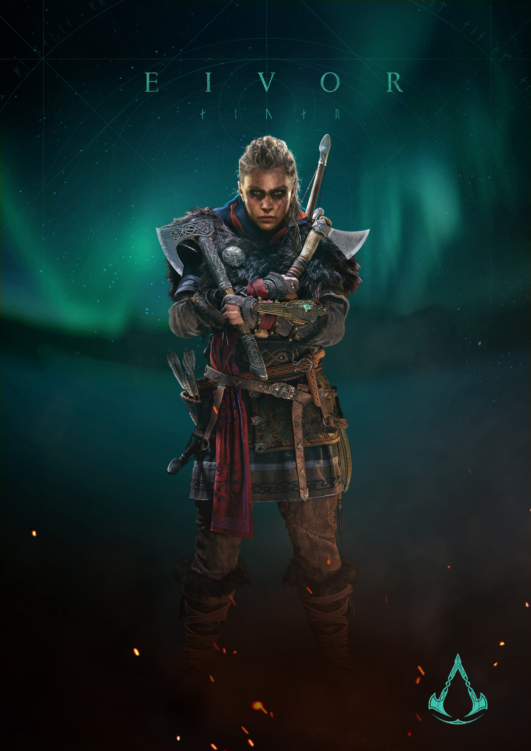 Assassins Creed Valhalla Character Render 1