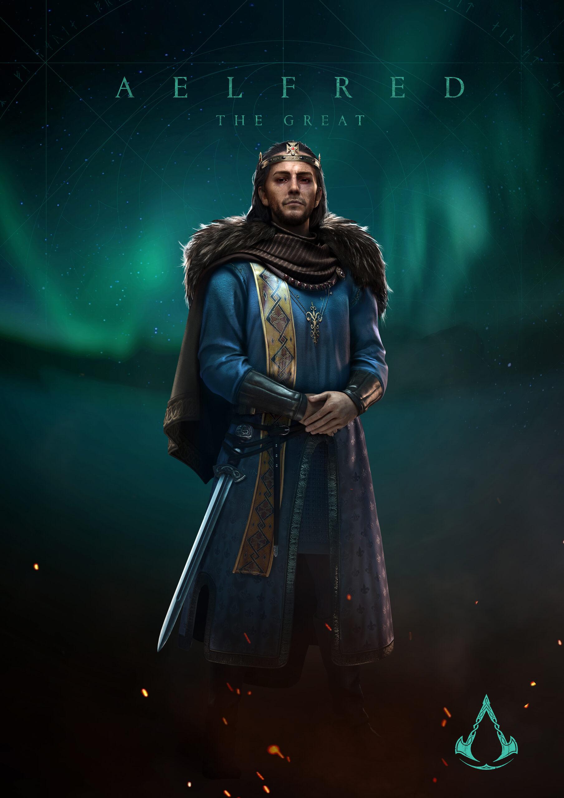 Assassins Creed Valhalla Character Render 3