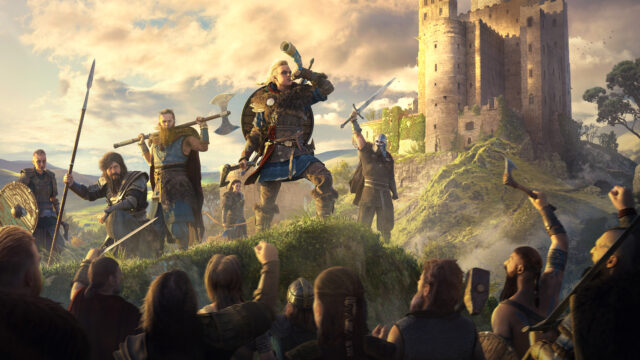 Assassins Creed Valhalla Raid Leader Key Art