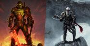 DOOM Eternal and The Elder Scrolls Online Banner Small