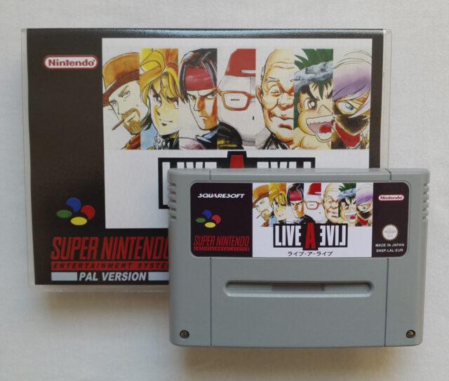 Live a Live Super Famicom 1994
