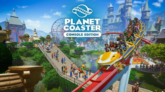 Planet Coaster Console Edition Key Art