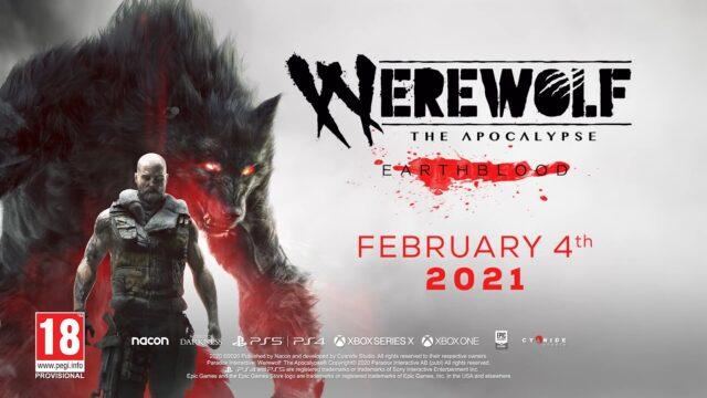 Werewolf The Apocalypse - Earthblood Release Date