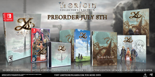 Ys Origin Switch Collector's Edition