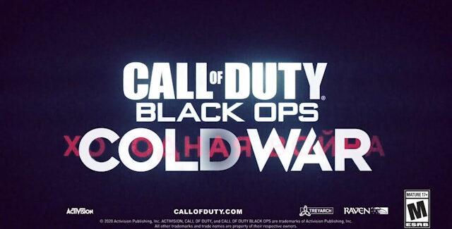 Call of Duty: Black Ops: Cold War Logo Teaser