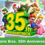 35th Anniversary Super Mario Bros Banner