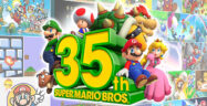 35th Anniversary Super Mario Bros Banner Small