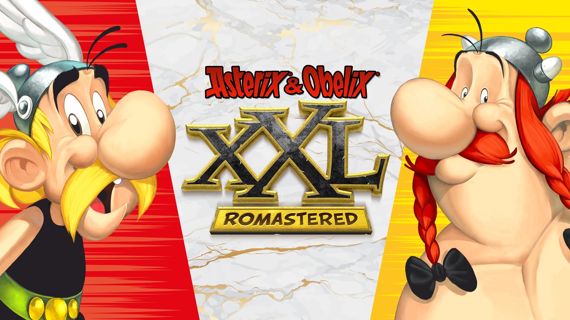 Asterix & Obelix XXL Romastered Key Art