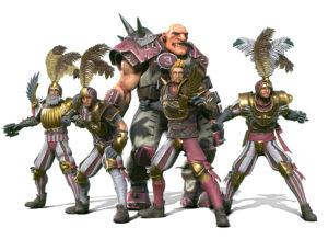 Blood Bowl III Characters 1