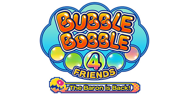 Bubble Bobble 4 Friends The Baron is Back Logo