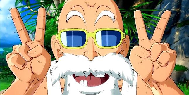 Dragon Ball FighterZ Master Roshi Banner