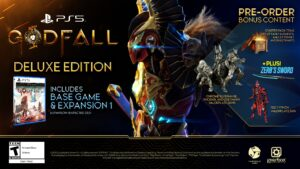 Godfall Deluxe Edition PS5