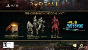 Godfall Deluxe Pre-order Bonus PS5