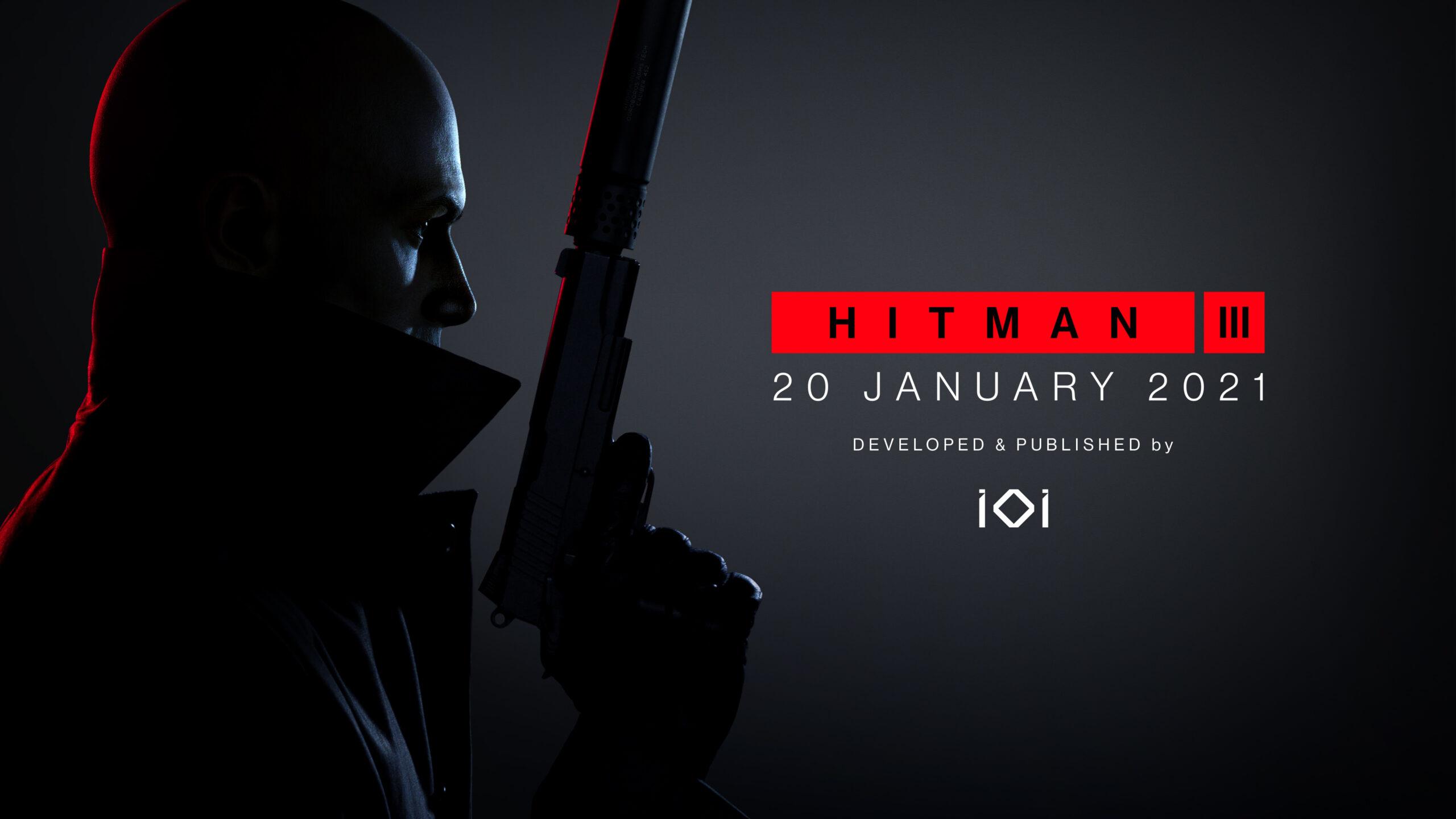Hitman 3 Key Art Date