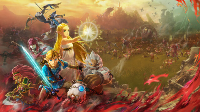 Hyrule Warriors Age of Calamity Key Art