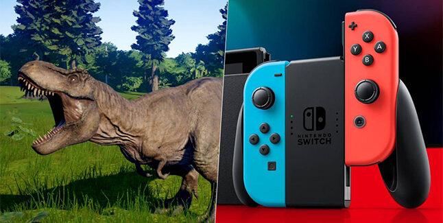 Jurassic World Evolution Switch Banner