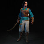 Prince of Persia The Sands of Time Remake Character Art 1