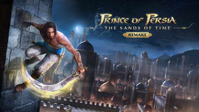 Prince of Persia The Sands of Time Remake Key Art