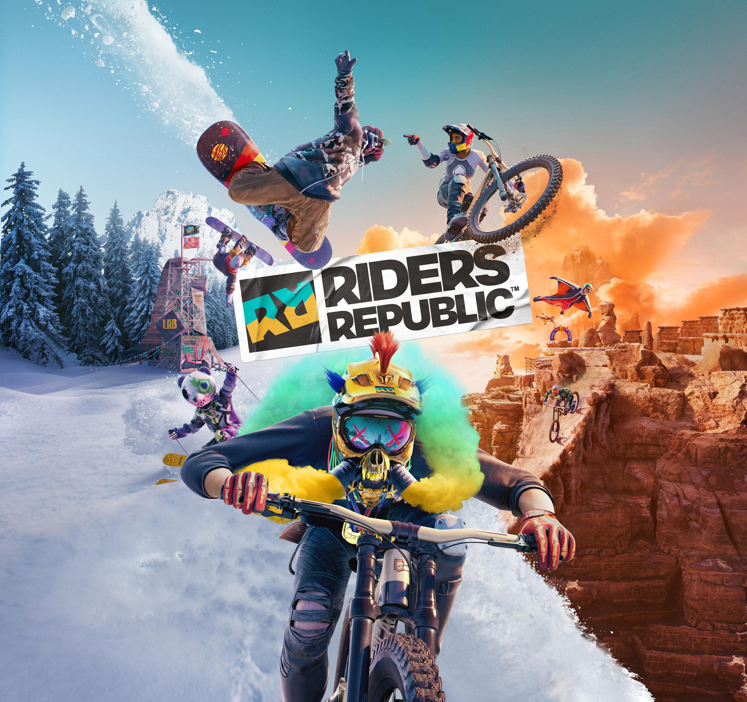 Riders Republic Key Art
