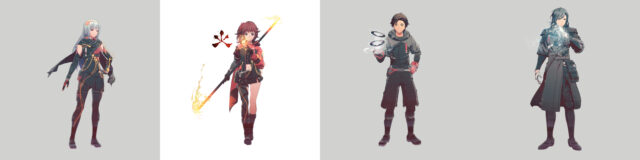 Scarlet Nexus Characters Art