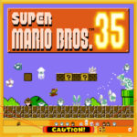 Super Mario Bros 35 Banner
