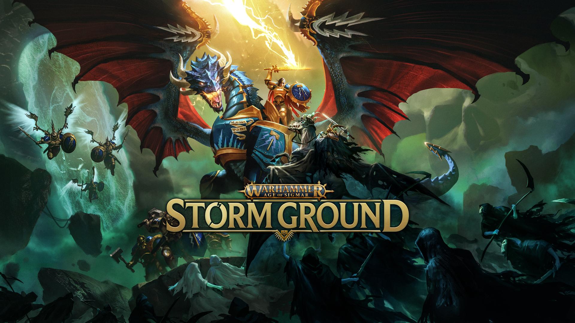 Warhammer Age of Sigmar Storm Ground Key Art