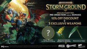Warhammer Age of Sigmar Storm Ground Pre-order Banner