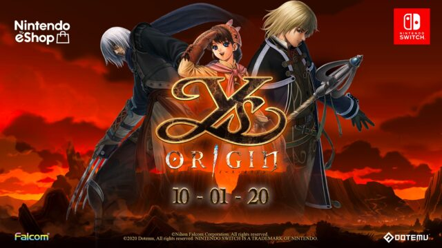 Ys Origin Switch Banner