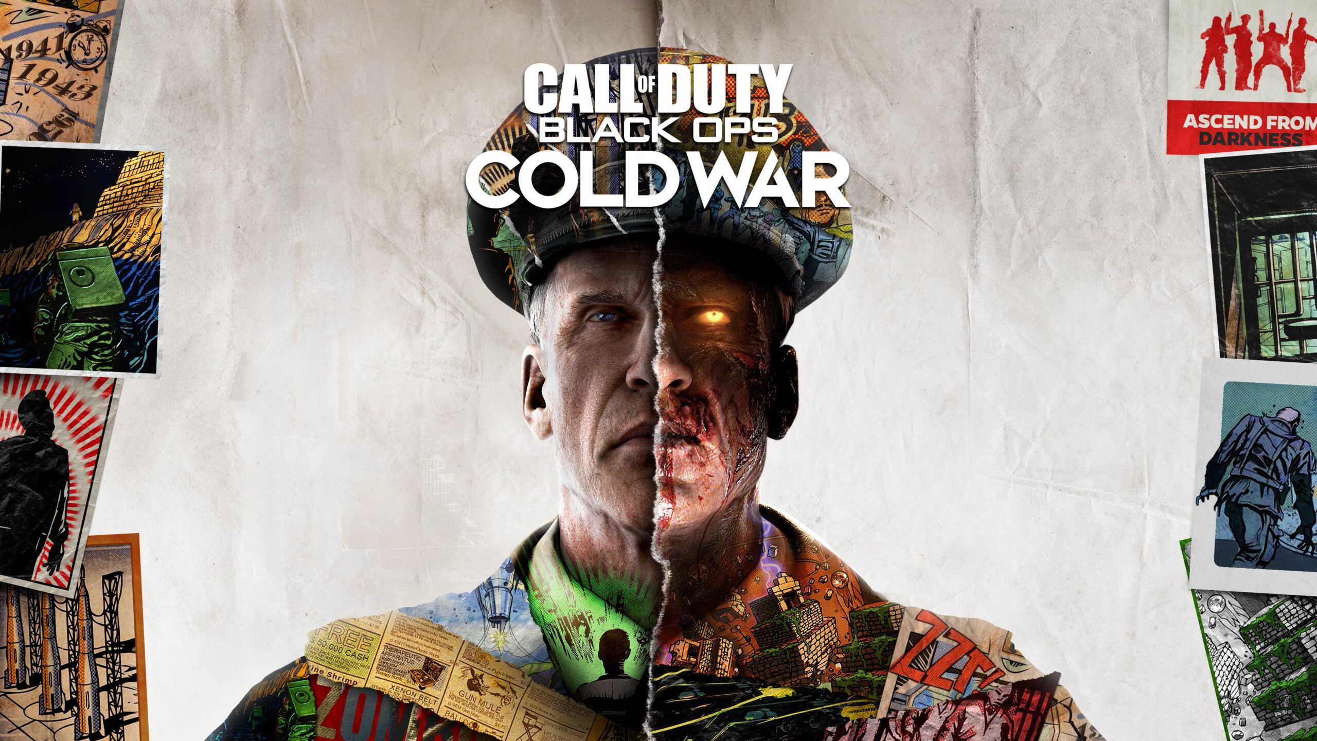 Call of Duty Black Ops Cold War Zombies Key Art