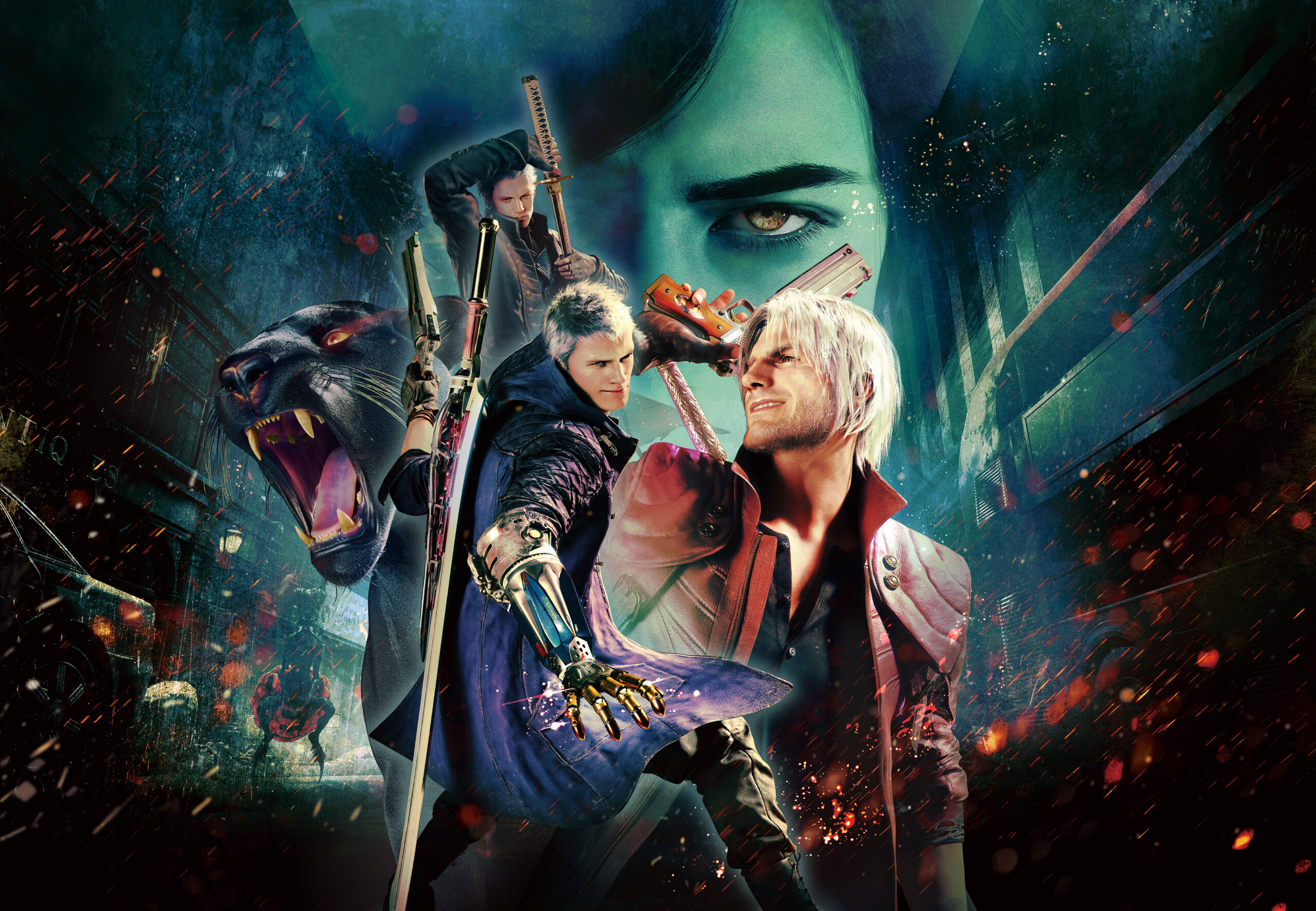 Devil May Cry 5 Special Edition Key Art