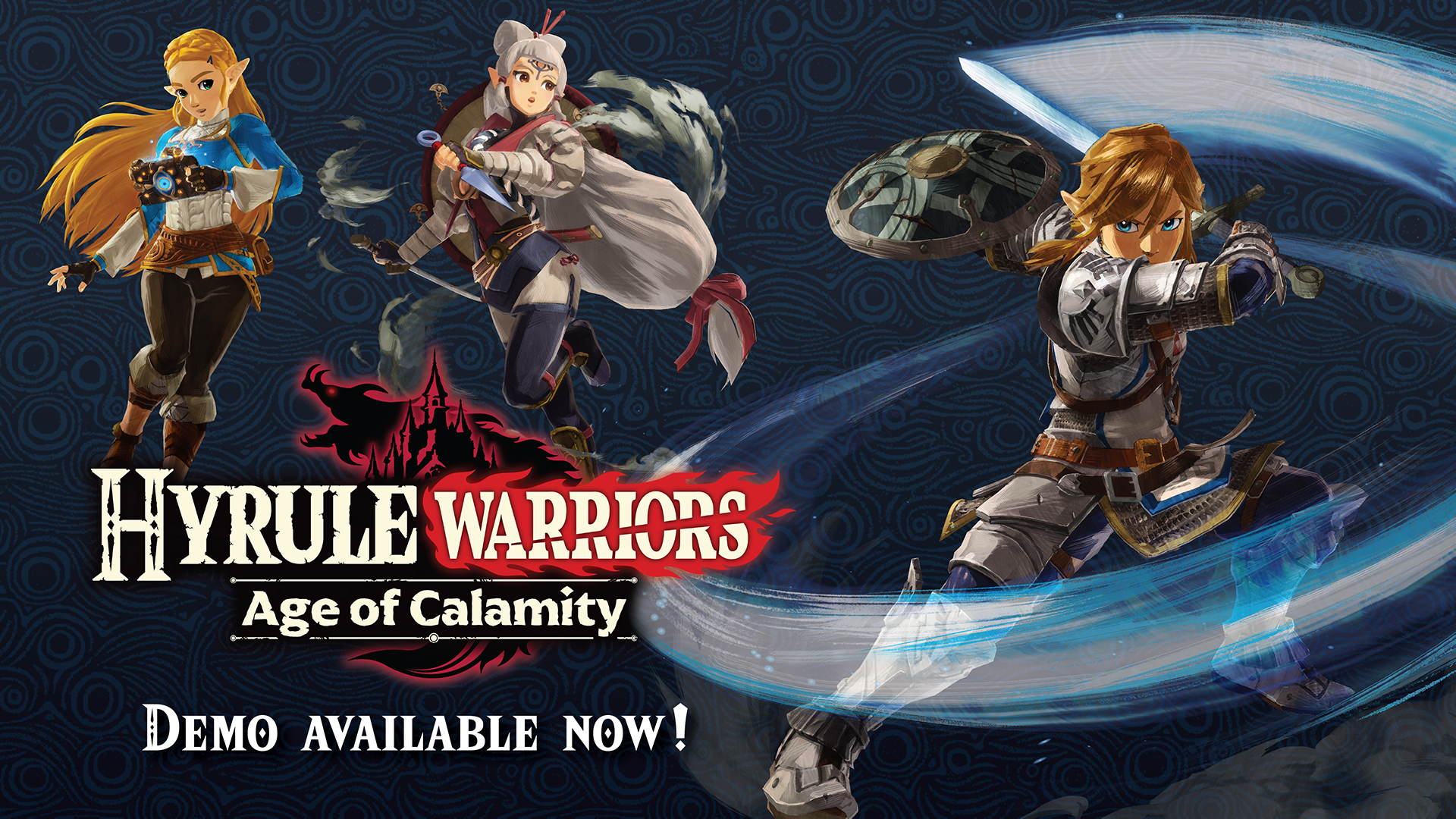 Hyrule Warriors Age Of Calamity Demo Banner