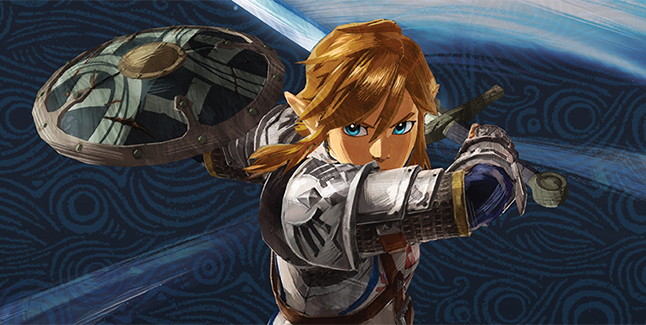 Hyrule Warriors Age Of Calamity Link Banner