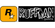 Rockstar and Ruffian Games Logos