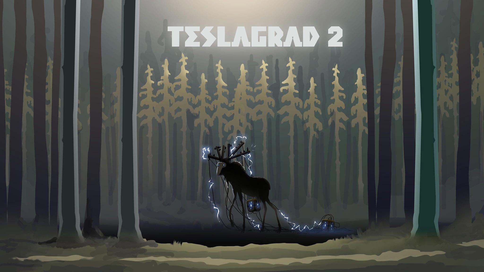 Teslagrad 2 Key Art