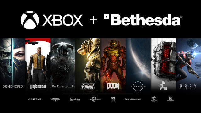 Xbox Bethesda Banner