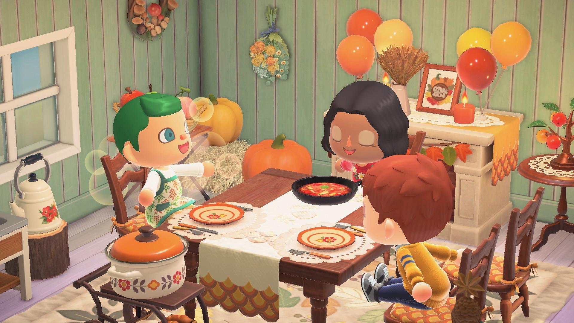 Animal Crossing New Horizons Winter Update Screen 1