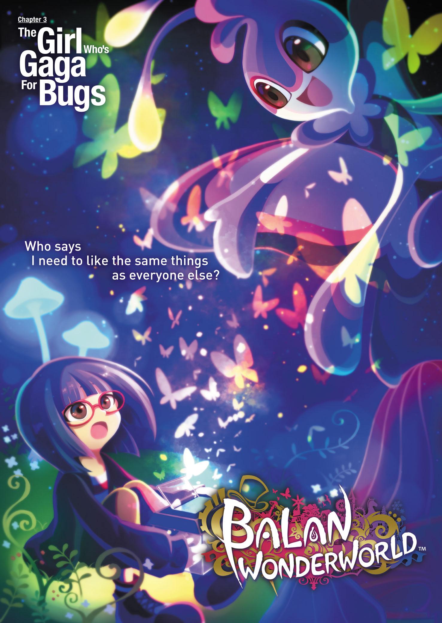 Balan Wonderworld Chapter 3 The Girl Who%u2019s Gaga for Bugs Poster