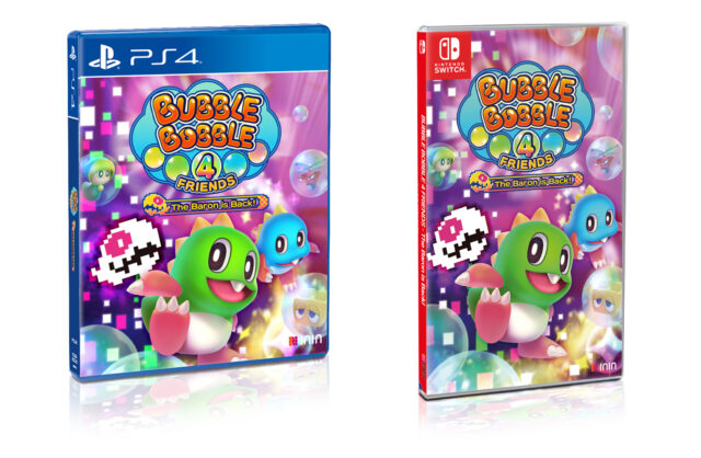 Bubble Bobble 4 Friends The Baron is Back Boxart