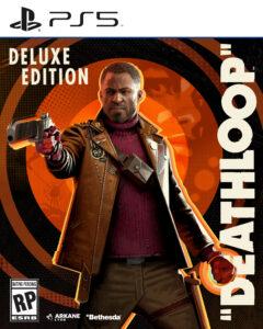 Deathloop PS5 Deluxe Edition Boxart