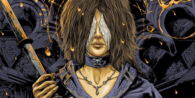 Demons Souls Vinyl Cover Banner