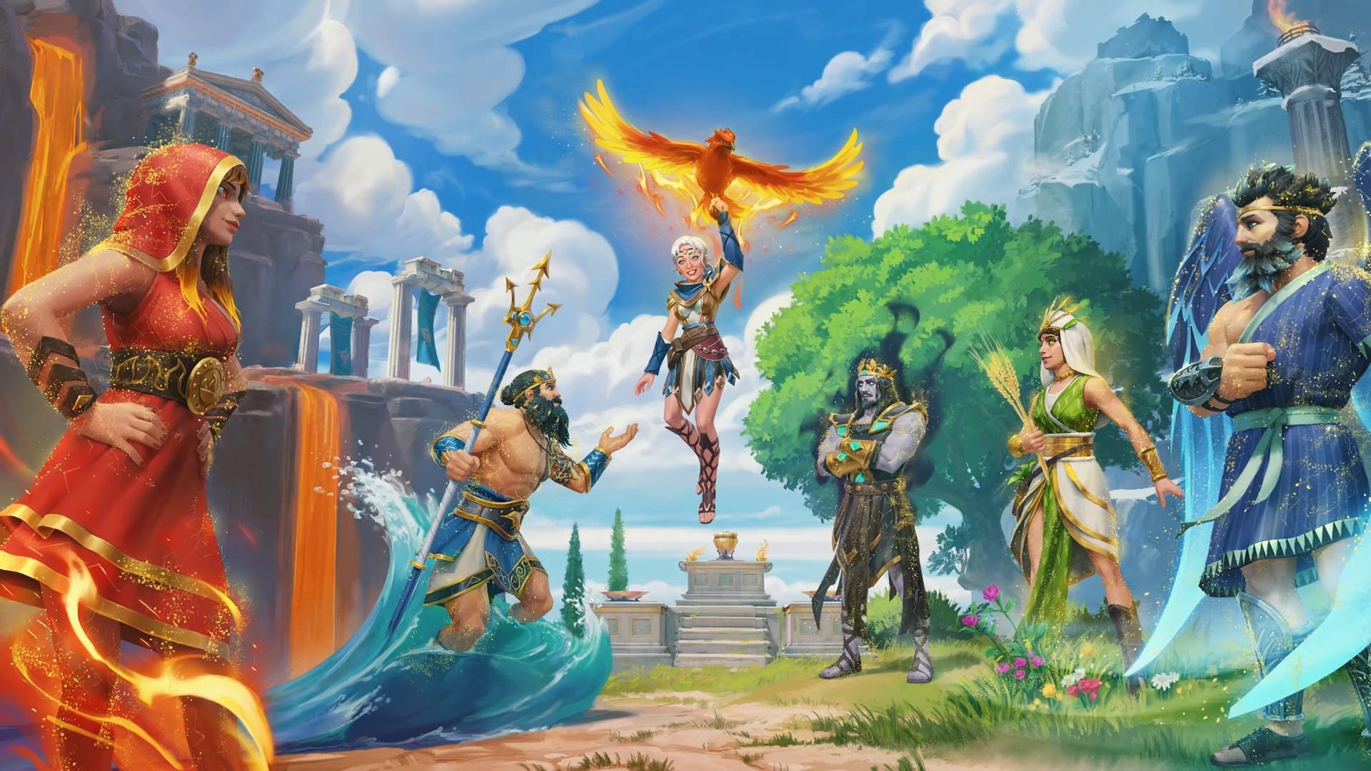 Immortals Fenyx Rising The Lost Gods Key Art