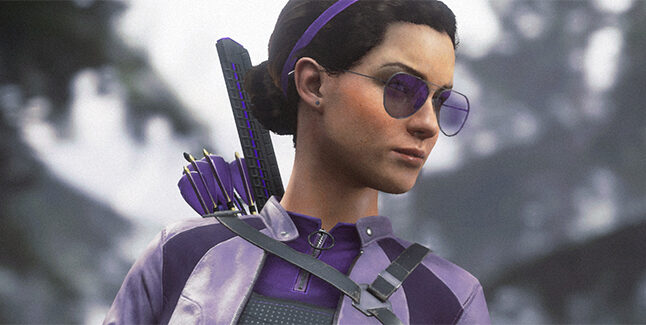Marvels Avengers Kate Bishop Banner