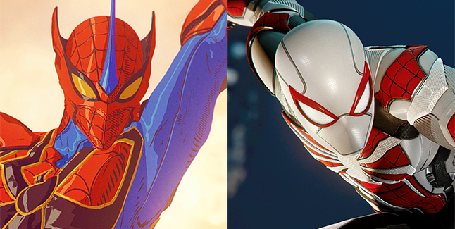 Marvel's Spider-Man: Remastered Reveals 'Arachnid Rider' and 'Armored  Advanced' Suits