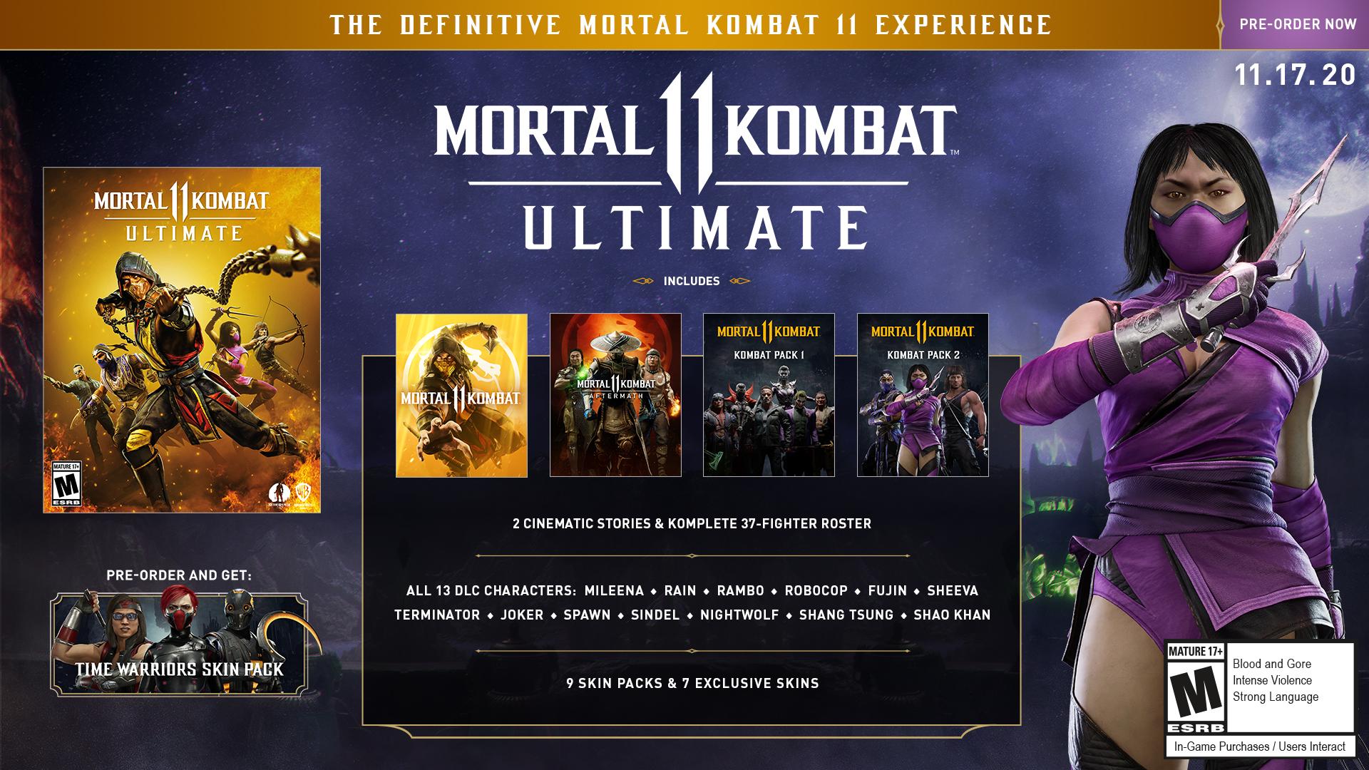 Mortal Kombat 11 Ultimate Promo