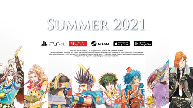 SaGa Frontier Remastered 2021 Summer