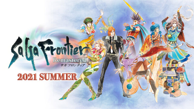SaGa Frontier Remastered 2021 Summer Concept Art